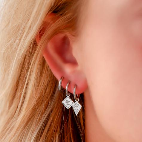 Hanger oorbellen met ster