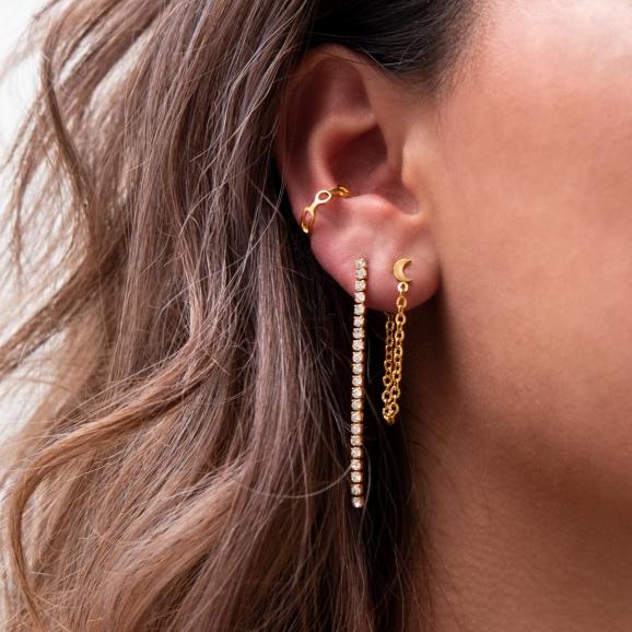 Trendy sieraden in oor