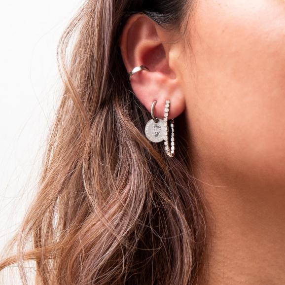Coin oorbellen
