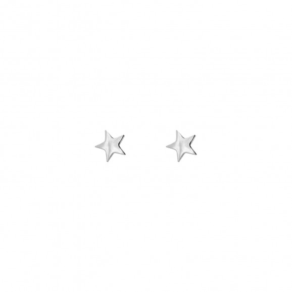 925 Sterling Silver ster studs oorbellen finaste