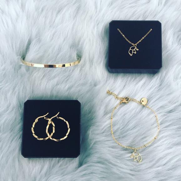 Gouden sieraden van Finaste