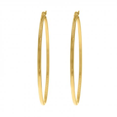 Gouden oorringen large