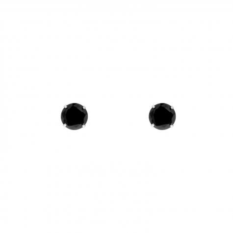 Sparkle Stud Oorbellen Small Zwart
