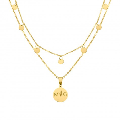 Musthave necklace party kleur goud