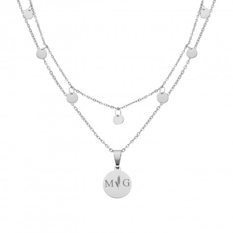 Musthave necklace party kleur zilver