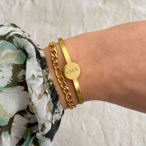 Armparty Set Bangle Goud Kleurig