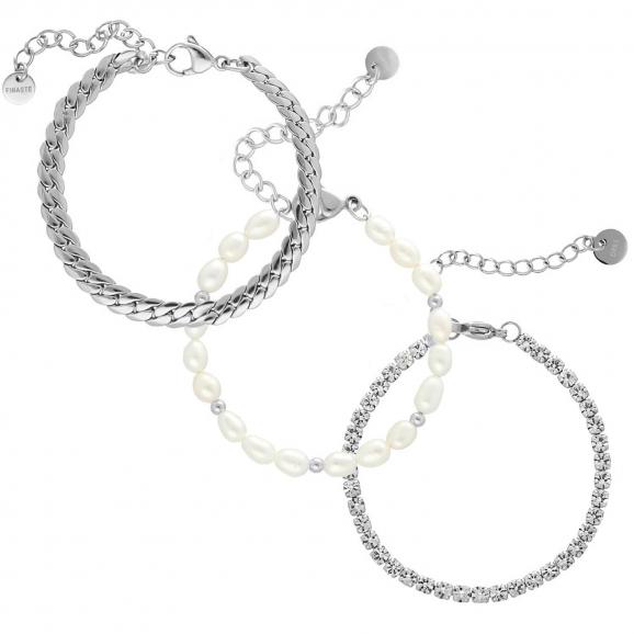 Armparty chain & pearl
