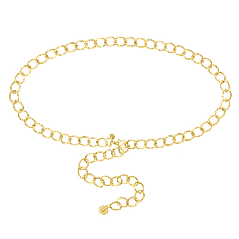 Chain belt goud