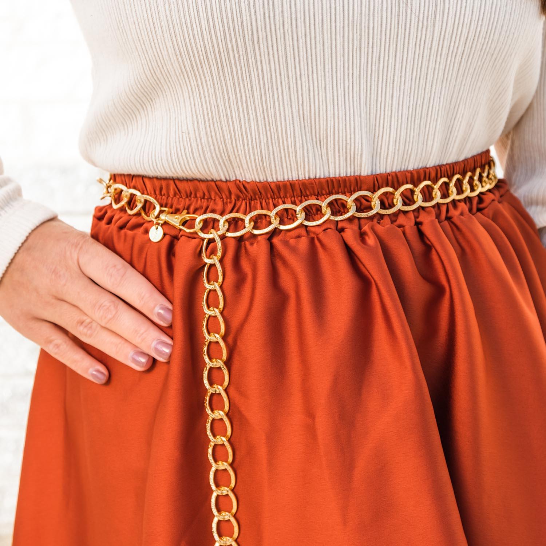 Stoere chain belt voor bij jouw outfit om te kopen