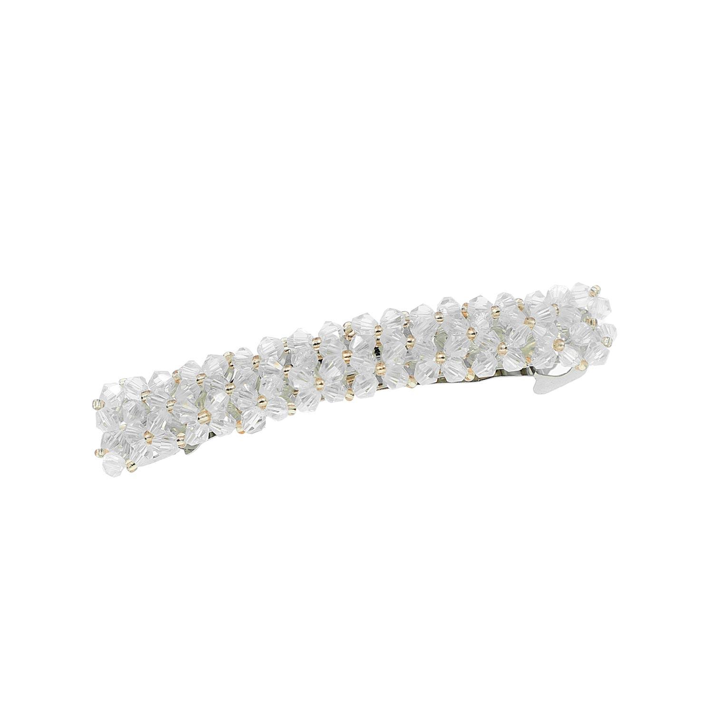 Haarclip Sparkle Wit