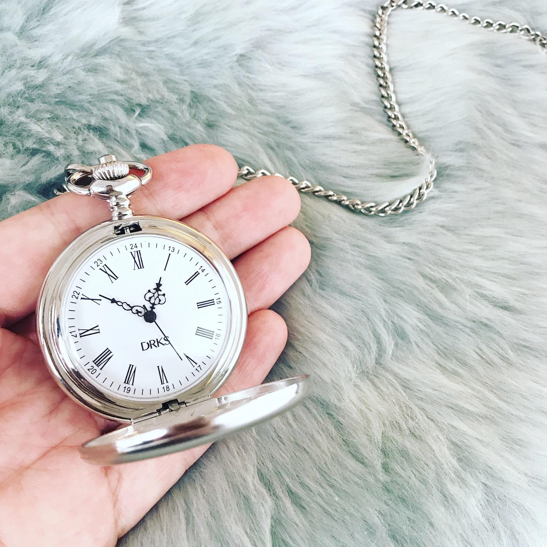 graveerbare pocket watch