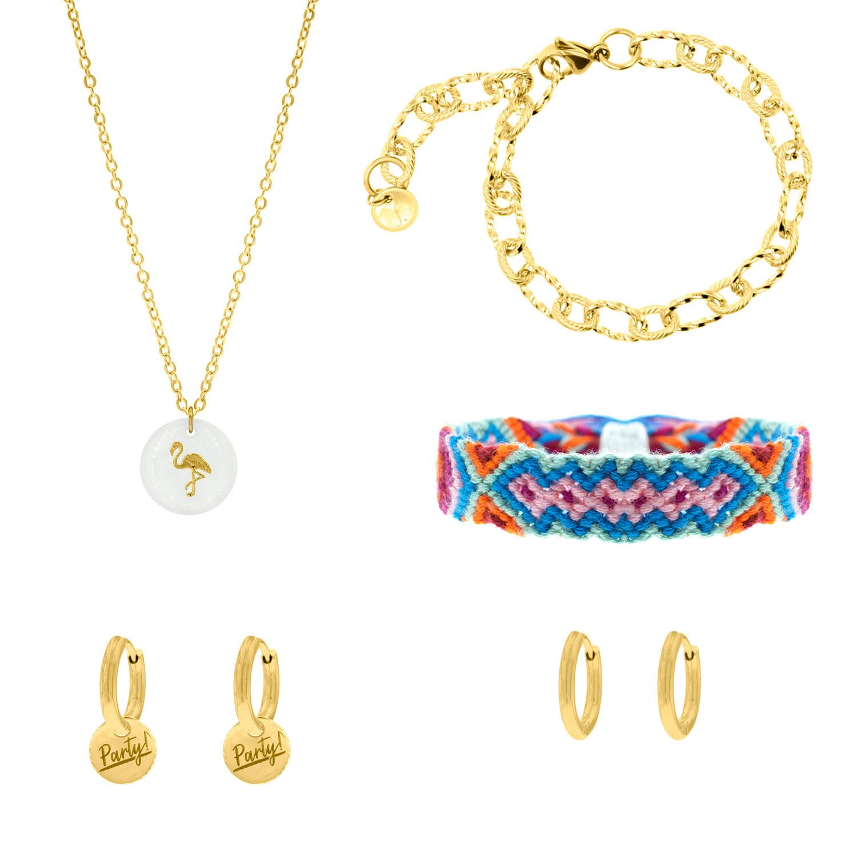 Gouden sieraden in een verrassingspakket