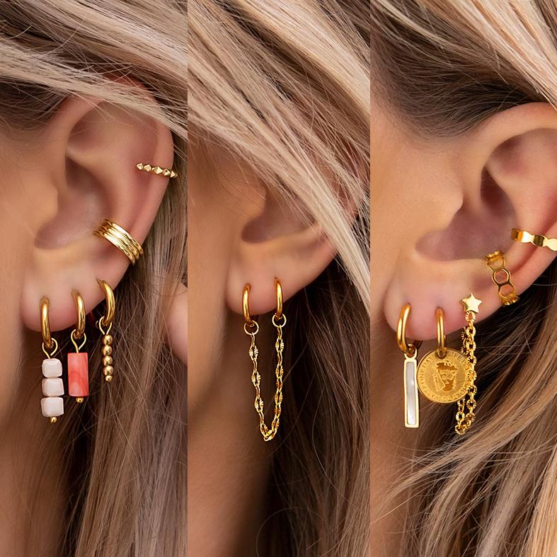 gouden earparty mix