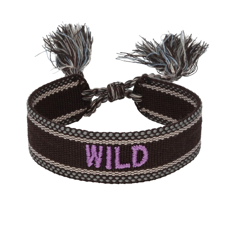 Bohemian armband wild zwart
