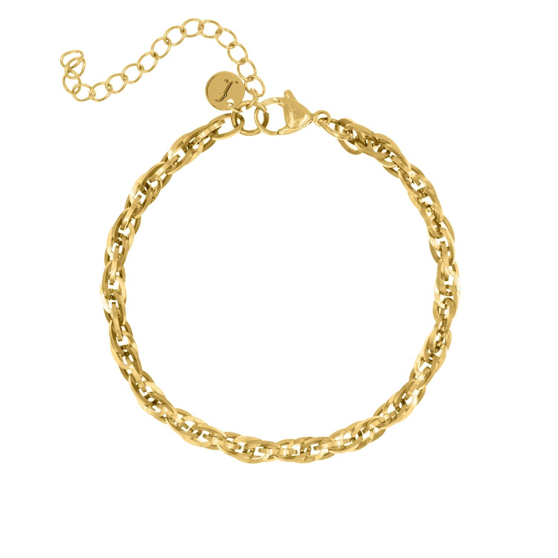 Musthave Gouden Schakel Armband Finaste