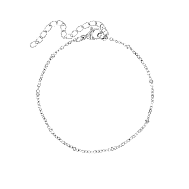 top mode nieuwe authentiek schoonheid Armband Bolletjes Zilver