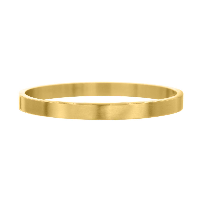 Musthave brushed Bangle in de kleur goud van FINASTE