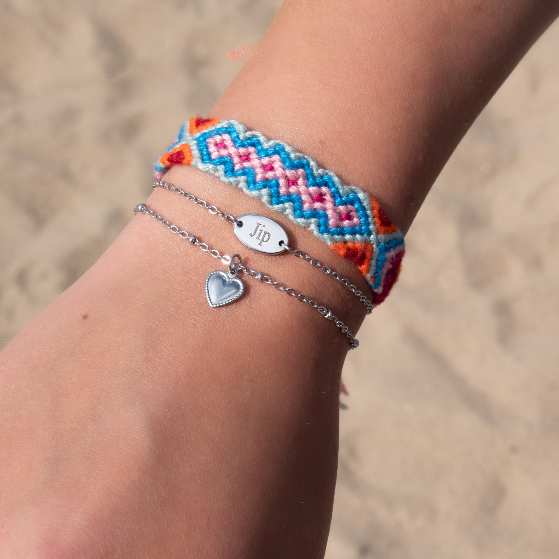 zomer armbandjes om pols