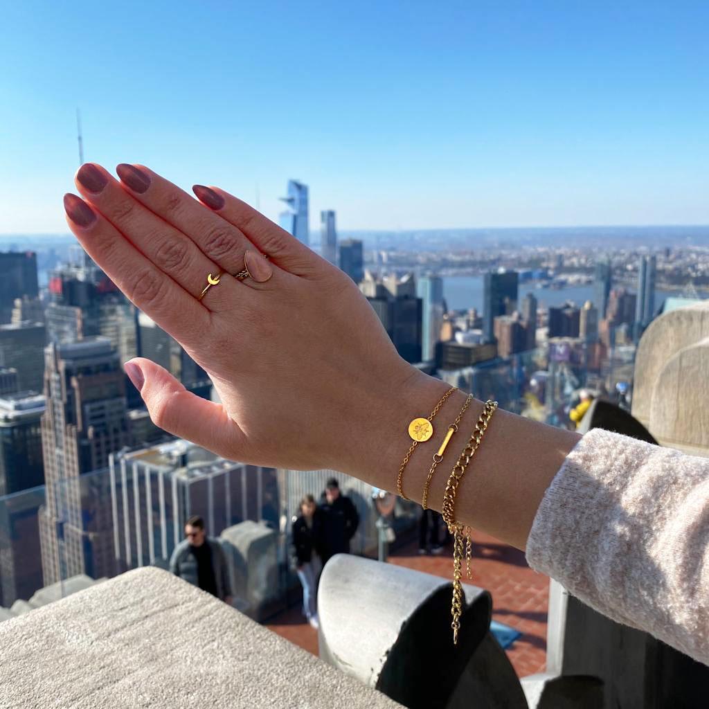Leuke ringen voor om de hand voor een complete look in new york