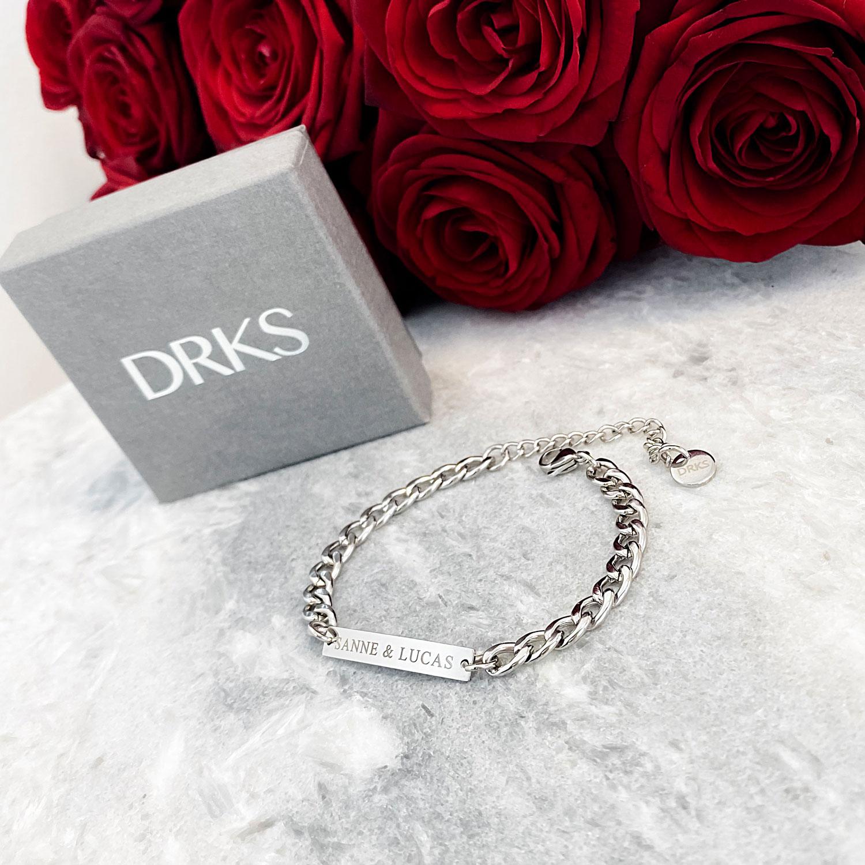 Stoere zilveren armband die je cadeau kunt geven