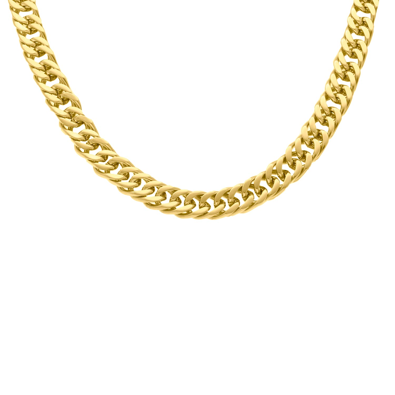 Chain ketting chunky goud kleurig