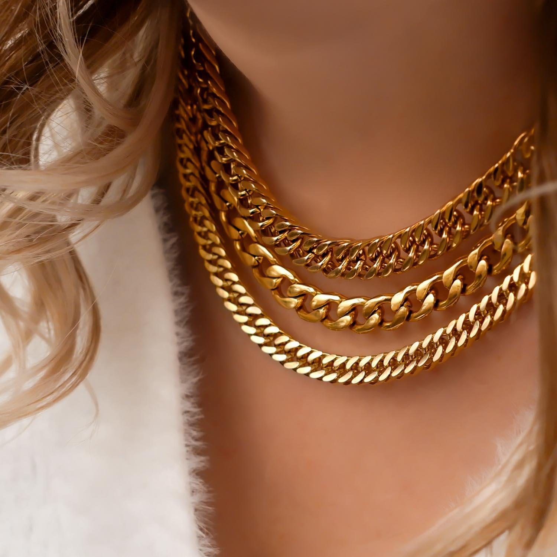 Stoere gouden kettingen kopen