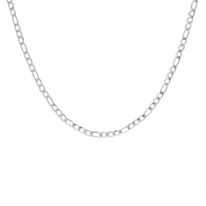 Finaste minimalistische ketting met schakel in stainless steel