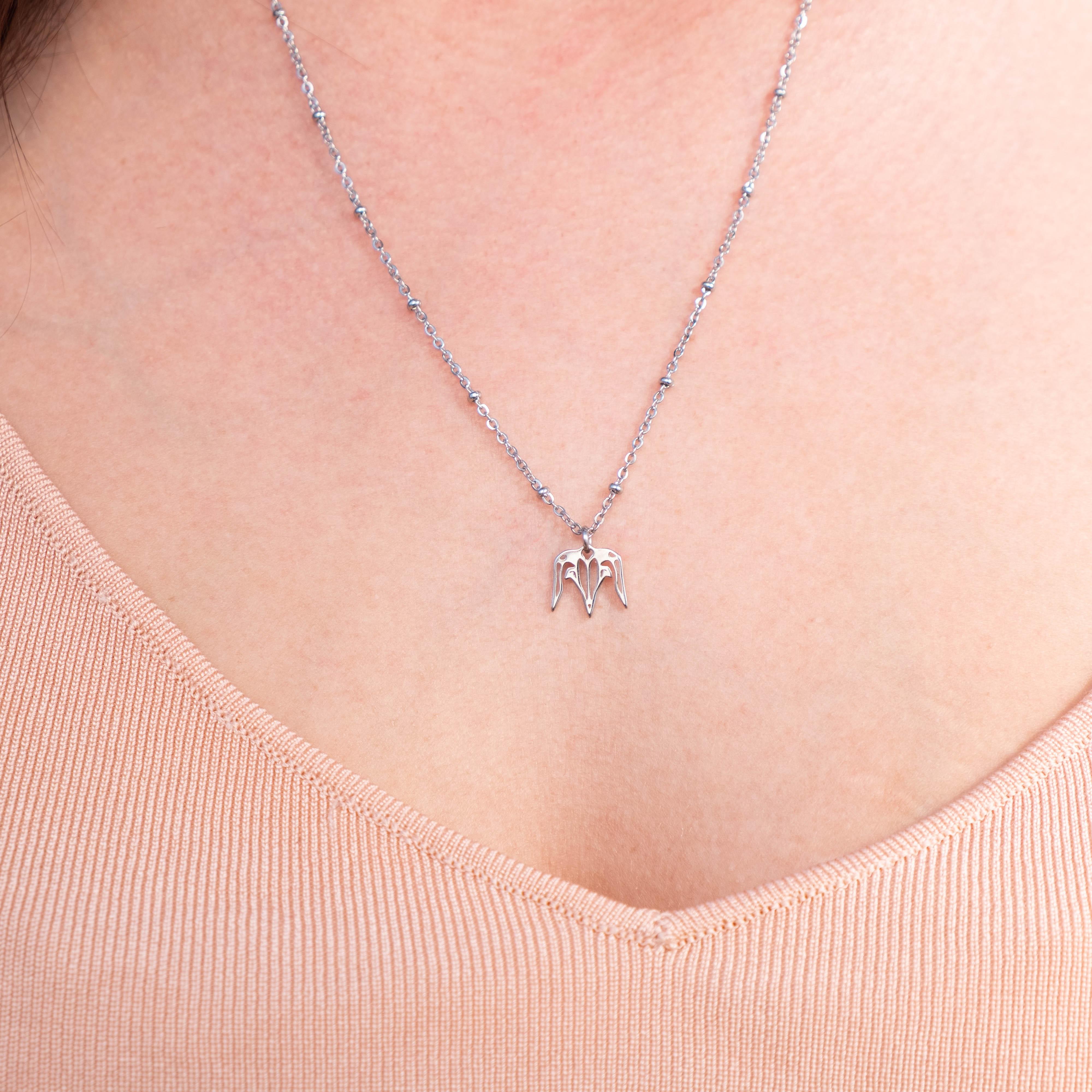 Zilveren sterrenbeeld Steenbok Ketting