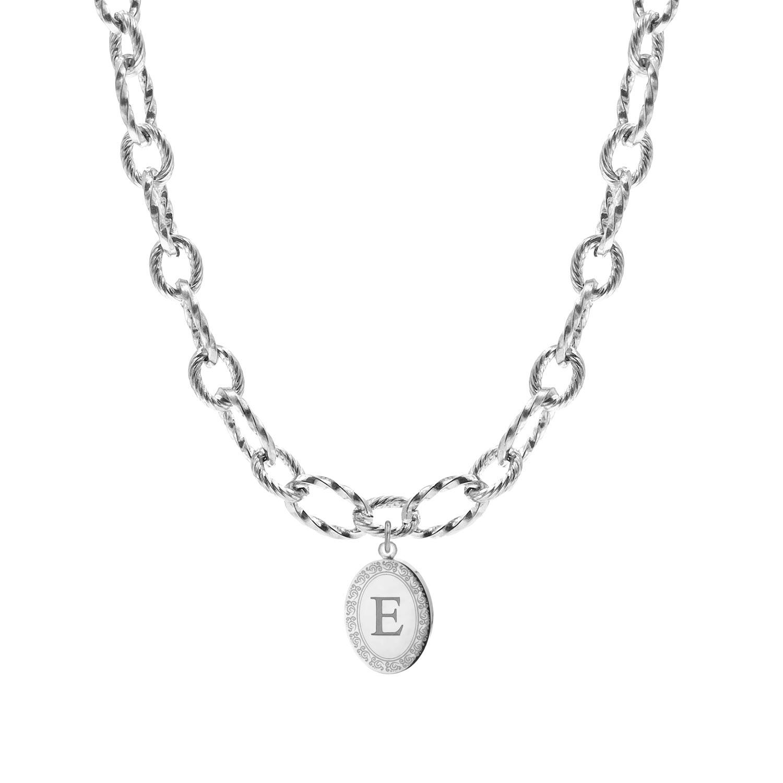 Chain ketting met bedel graveren zilveren