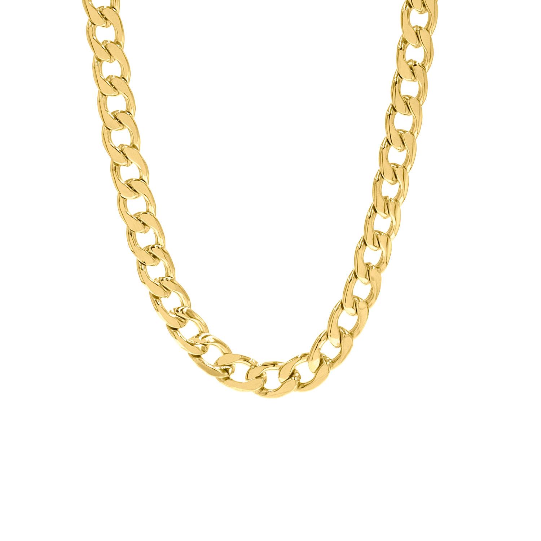 Big chain ketting goud