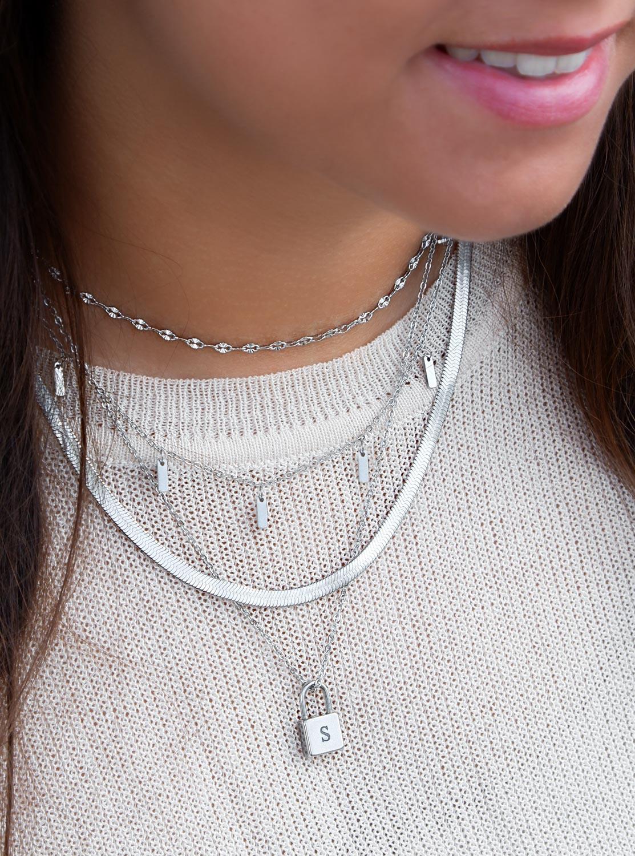 Platte ketting kopen voor een necklace party