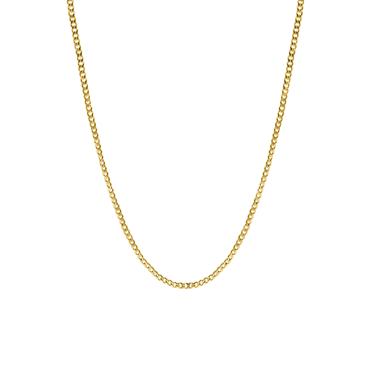 Subtiele chain ketting goud kleurig