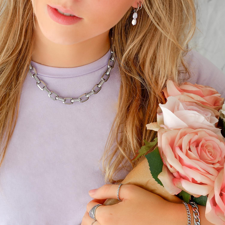 Mooie look voor sieraden voor een trendy set