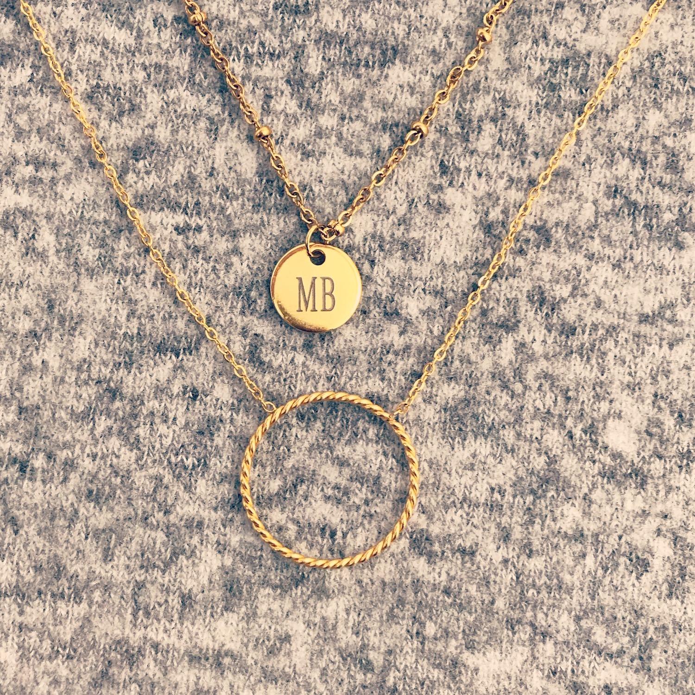 Gouden minimalistische kettingen van finaste