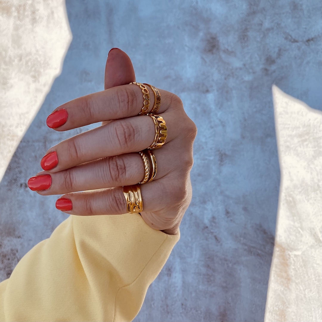 Trendy ringen voor een super leuke look