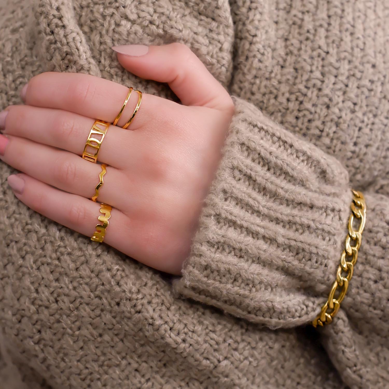 Mooie ringen om te dragen met een fijne trui