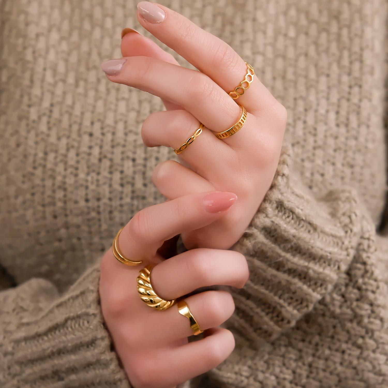 Mooie ringen om te dragen voor een trendy look