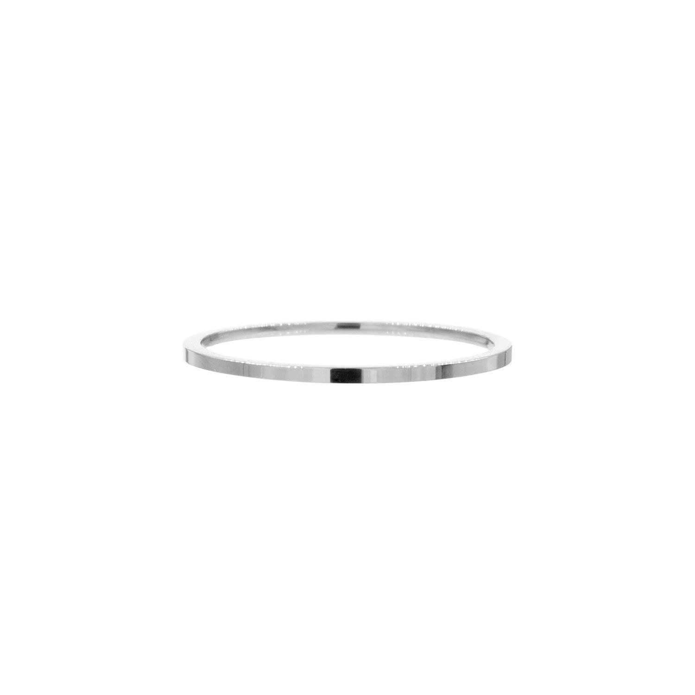 Zilveren fijne ring