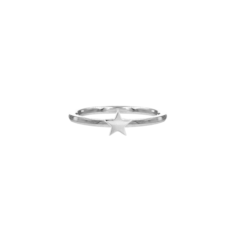 Sterretjes Ring Zilver