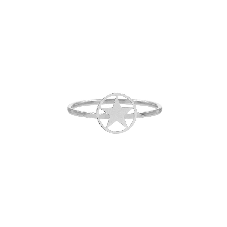 Ring met open ster