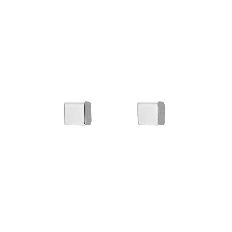 Cube stud oorbellen