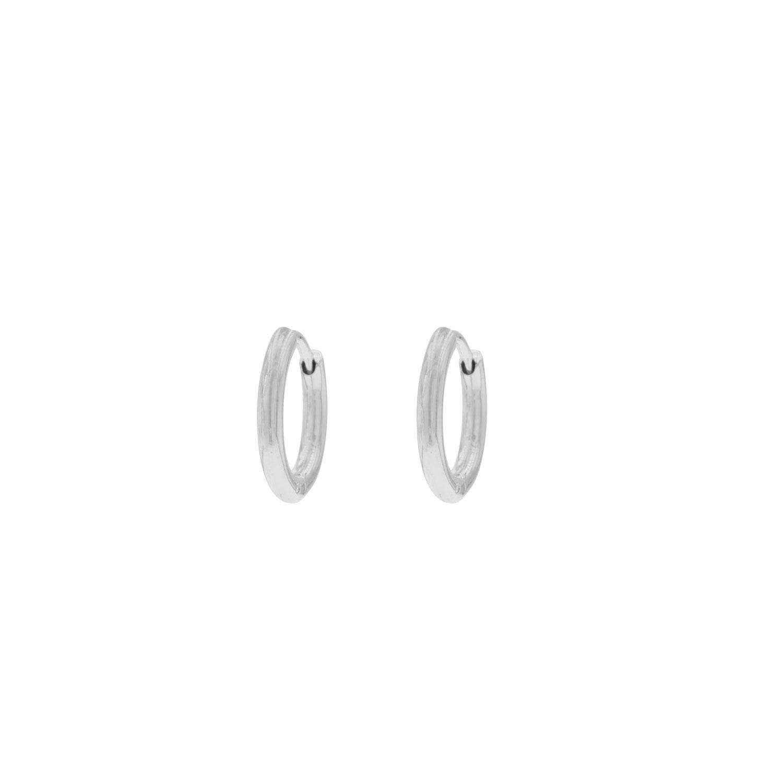 Minimalistische oorringetjes zilver