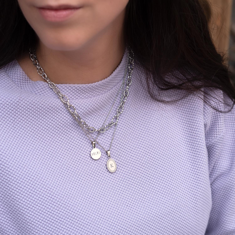 Leuke zilveren kettingen met een trendy look