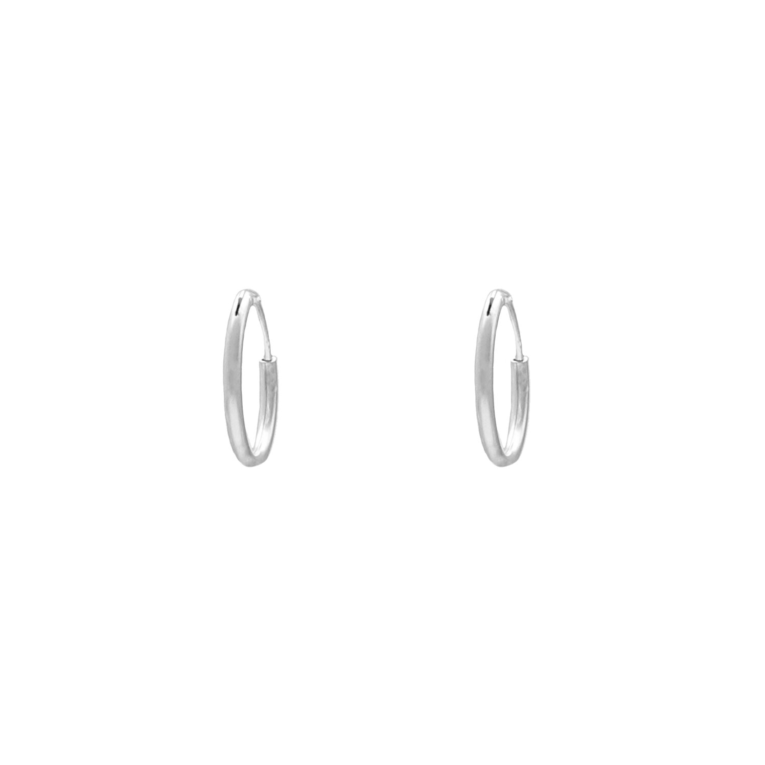 Oorringetjes Sterling Zilver 10 mm